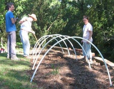 Build a hoop house