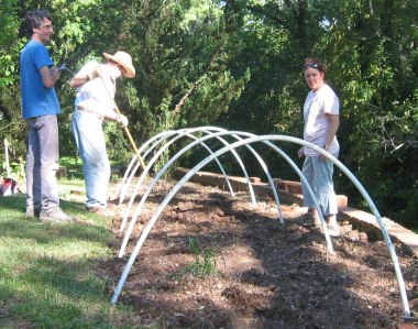 Build a hoop house