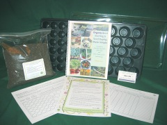 Debby developed the Prior Unity Garden Seed Starting Kit as a seed starting system to insure your success growing plants from seed.