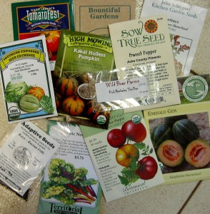 Seed Packets from some of our recommended companies
