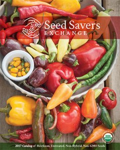 2017 Seed Saver's Exchange Catlatog Cover