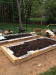 a raised bed is one choice for your veggie garden
