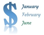 dollar and months graphic